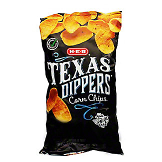 H-E-B Select Ingredients Texas Dippers Corn Chips, 10.5 oz
