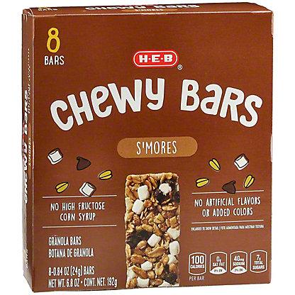 H-E-B Chewy S'mores Granola Bars,8 CT