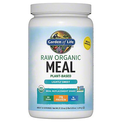 Garden of Life Raw Meal Beyond Organic Meal Replacement Formula, 2.6 lb