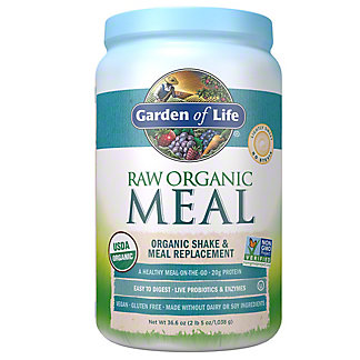 Garden of Life Raw Meal Beyond Organic Meal Replacement Formula, 2.6 lb