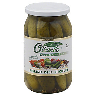 Othentic All Natural Polish Dill Pickles,30.4 OZ