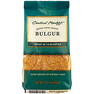 Central Market Bulgur Quick Cook Grains, 8.8 oz