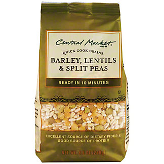 Central Market Barley, Lentils and Split Peas Quick Cook Grains, 8.8 oz