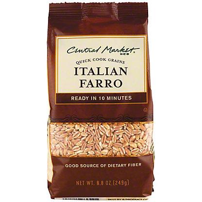 Central Market Italian Farro Quick Cook Grains, 8.8 oz