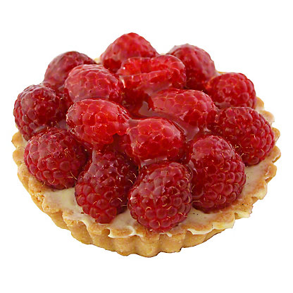 CENTRAL MARKET Raspberry Tartlet 4 Inch,8 OZ