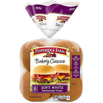 Pepperidge Farm Soft White Hamburger Buns,8 ct