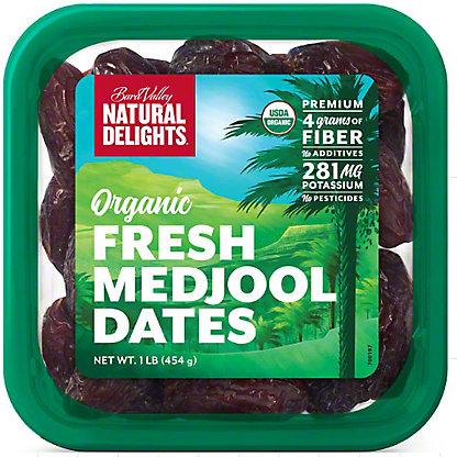 Natural Delights Organic Whole Medjool Dates, 16 oz