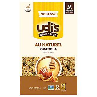 Udi's Gluten Free Au Naturel Granola, 12 oz