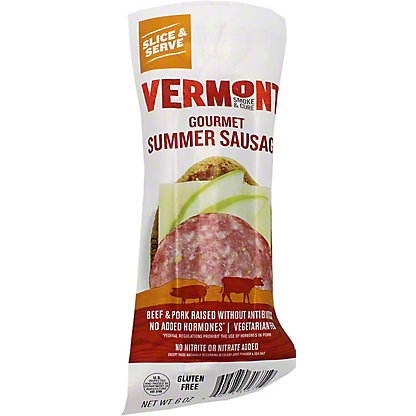 Vermont Smoke & Cure Uncured Summer Sausage,6 OZ