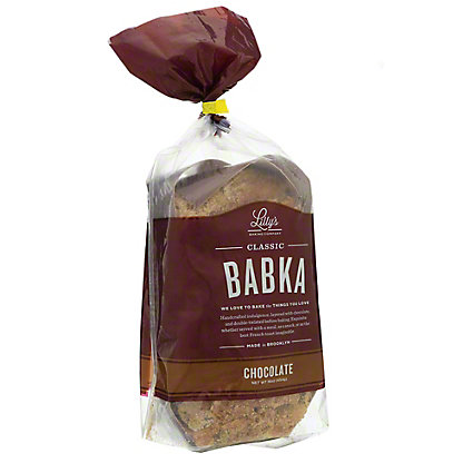 Lily's Bake Shoppe Homestyle Chocolate Babka, 16 oz
