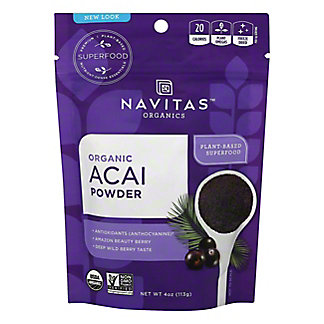 Navitas Naturals Organic Acai Powder,4 OZ