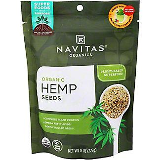 Navitas Naturals Organic Hemp Seeds,8 OZ