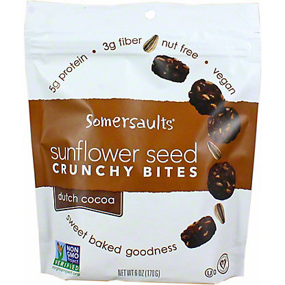 Somersault Snack Co. Dutch Cocoa Sunflower Seed Snacks, 6 OZ