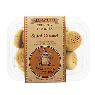 Wackym's Kitchen Salted Caramel Cookies, 8 oz