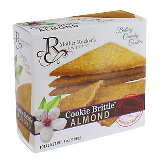 Mother Rucker's Sweets Almond Cookie Brittle, 8 oz