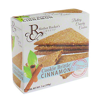 Mother Ruckers Cinnamon Cookie Brittle,8OZ