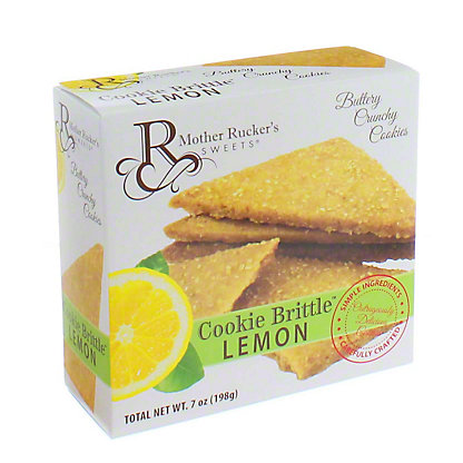 Mother Rucker's Sweets Lemon Cookie Brittle, 8 oz