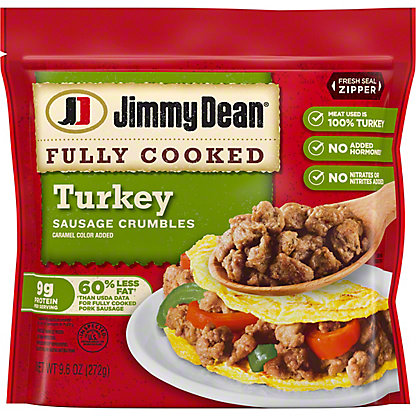 Jimmy Dean Hearty Turkey Sausage Crumbles,9.60 oz