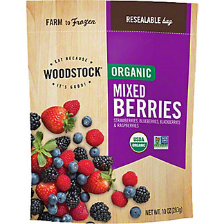 Woodstock Organic Mixed Berries,10 OZ