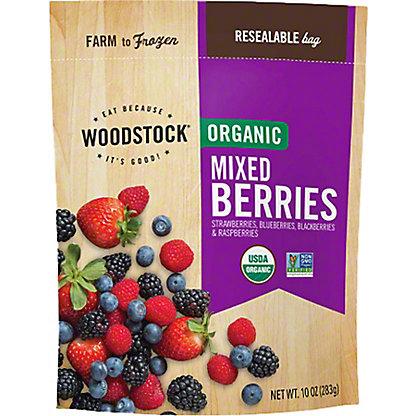 Woodstock Organic Mixed Berries,10 OZ