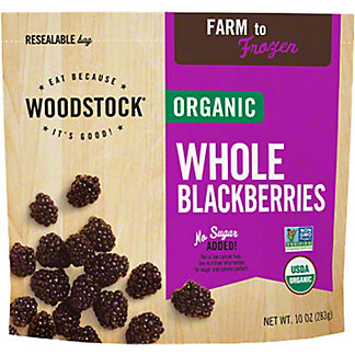 Woodstock Organic Frozen Fruit Blackberries,EACH