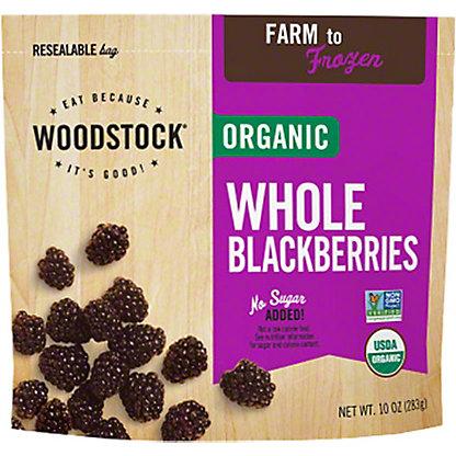 Woodstock Organic Frozen Fruit Blackberries,EACH