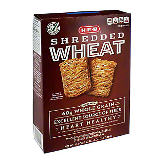 H-E-B Select Ingredients Shredded Wheat Cereal, 16.4 oz