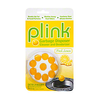 Plink Garbage disposer cleaner and deodorizer, 10 ea, 23 g