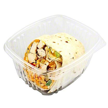 Central Market Hatch Chicken Fajita Wrap,HALF