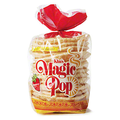 Kim's Magic Pop Strawberry Snack Cakes,15 CT