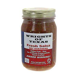 Wrights of Texas Fresh Habanero Salsa,16 oz