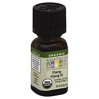 Aura Cacia Ylang Ylang III Organic, 0.25 oz
