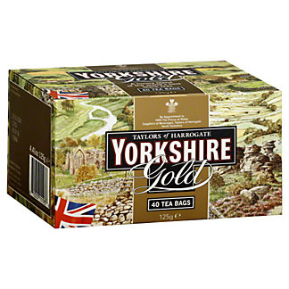 Taylors of Harrogate Yorkshire Gold Teabags,40 CT
