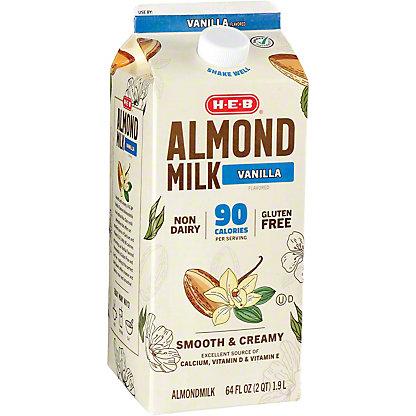 H-E-B H-E-B Vanilla Almondmilk,1/2 GAL