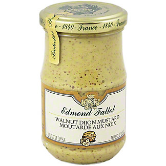 EDMOND FALLOT Edmond Fallot Walnut Dijon Mustard,7.4 oz