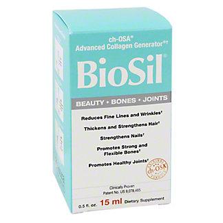 Natural Factors Biosil Beauty Bones Joints Liquid,Ea