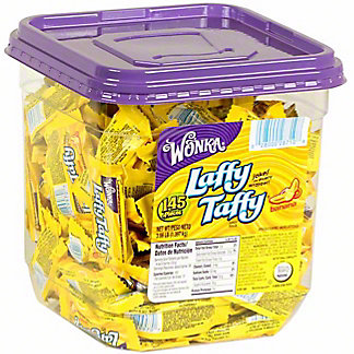 Laffy Taffy Chewy Banana Candy Tub, 145 ct