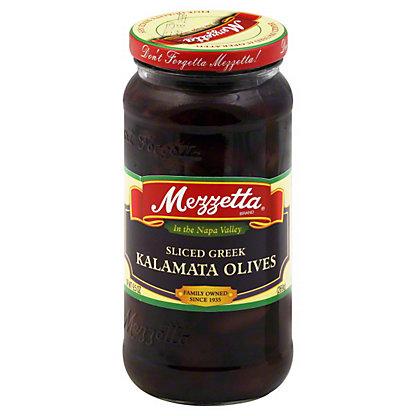 Mezzetta Sliced Greek  Kalamata Olives,9.5 OZ