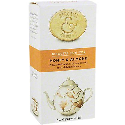Elegant & English Artisan Tea Biscuits Honey & Almond,4.4 oz