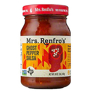 Mrs. Renfro's Ghost Pepper Hot! Salsa,16 oz