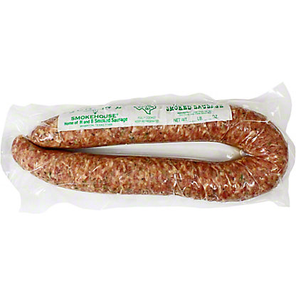 Juniors H & B Smoked Sausage Green Onion