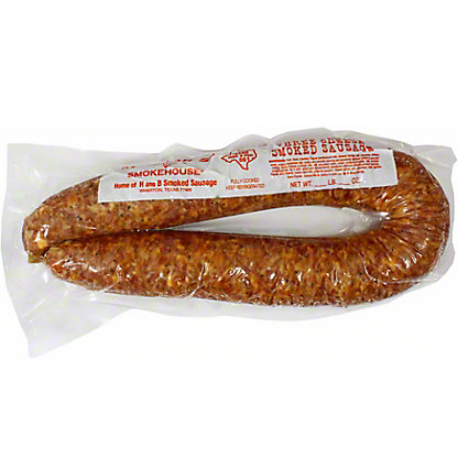 Juniors H & B Smoked Sausage Three Cheese