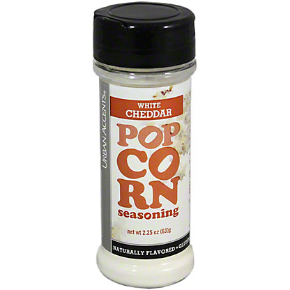 Urban Accents Popcorn White Cheddar Seasoning,2.25OZ