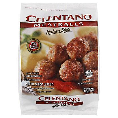 Celentano Meatballs Italian,26 oz (1 lb 10 oz)