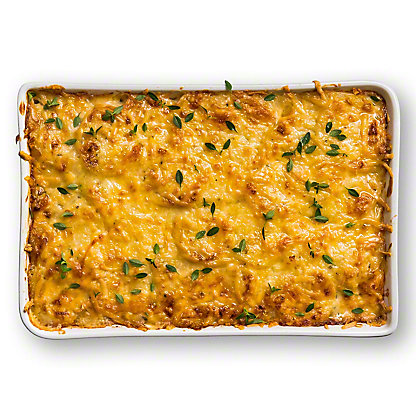 Herb Potato Gratin with Roasted Garlic and Manchego Cheese, Serves 6-8