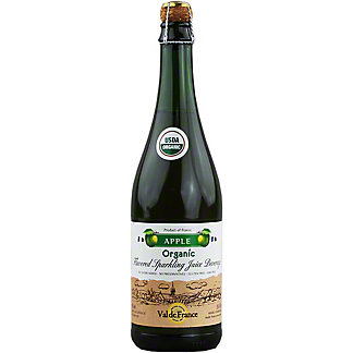 Val de France Organic Sparkling Apple Cider, 25.4 oz