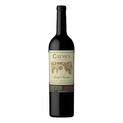 Caymus Vineyards Special Selection Cabernet Sauvignon, 750 mL