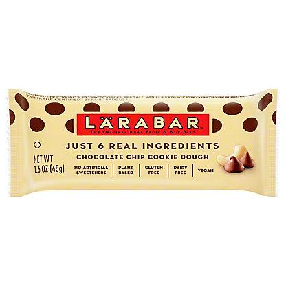 Larabar Chocolate Chip Cookie Dough Fruit and Nut Food Bar,1.6 OZ