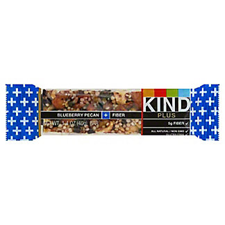 Kind Plus Blueberry Pecan & Fiber Fruit And Nut Bar, 1.4 oz