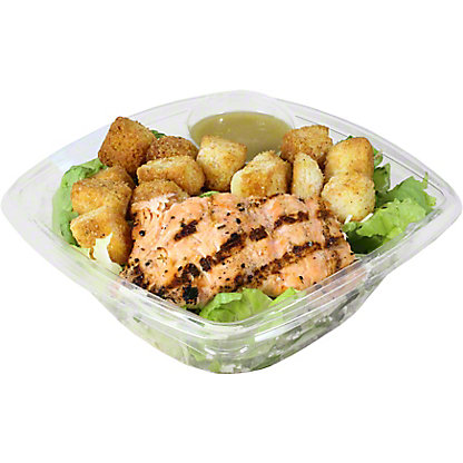 Central Market Grilled Salmon Caesar Salad, EACH